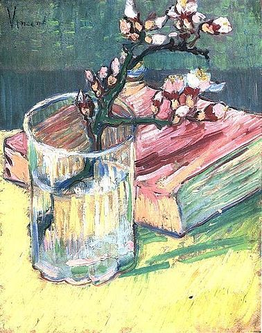 378px-Vincent_van_Gogh_-_Blossoming_Almond_Branch_in_a_Glass_with_a_Book