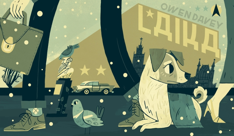Laika-D-Childrens-Book-Illustration-Owen-Davey_900